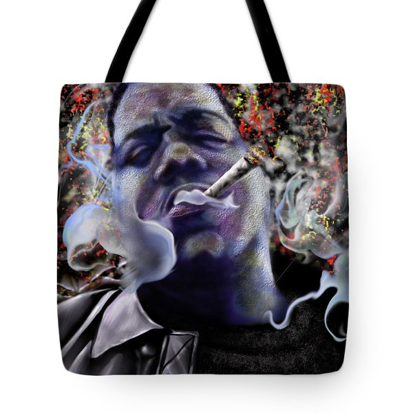 Biggie - Burning Lights 5 Tote Bag
