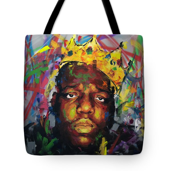 Tote Bag featuring the painting Biggy Smalls II by Richard Day