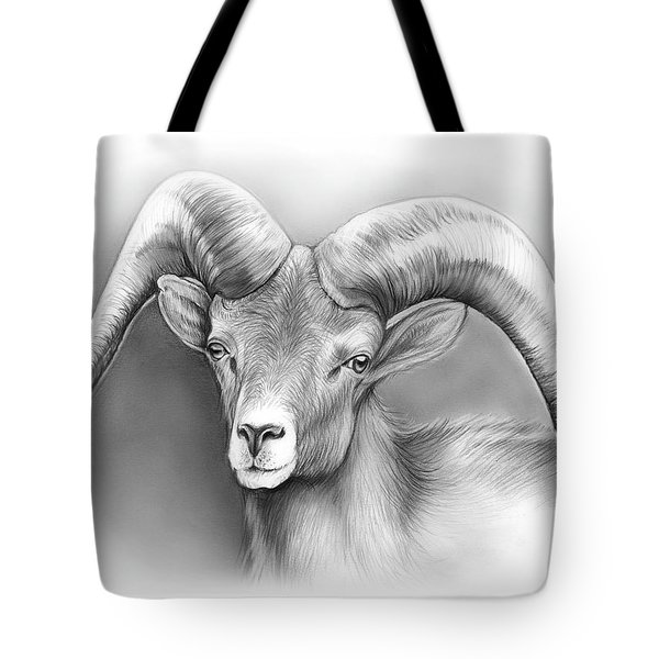 Bighorn Ram Tote Bag