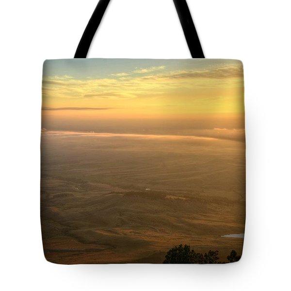 Bighorn Sunrise Tote Bag