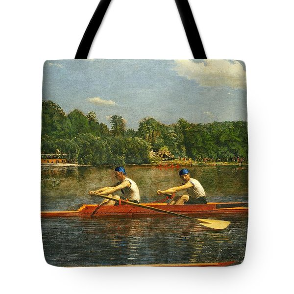Biglin Brothers  Tote Bag by Thomas Eakins