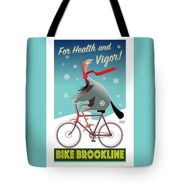 Bike Brookline Tote Bag