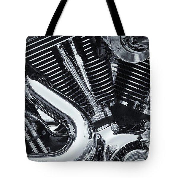 Bike Chrome Tote Bag