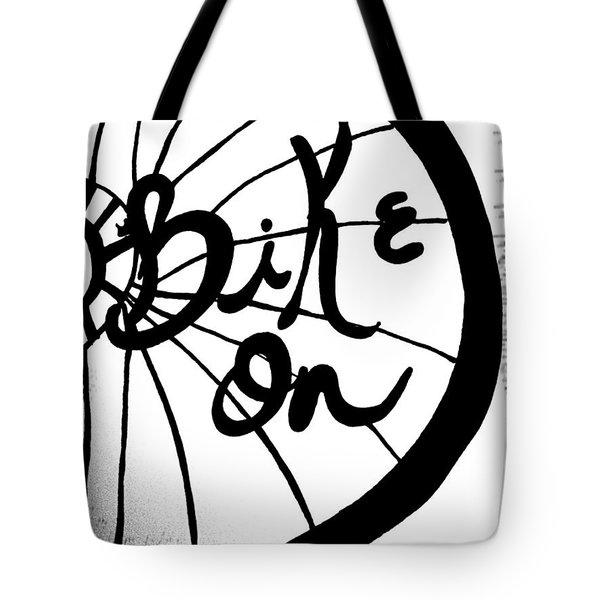 Bike On Tote Bag