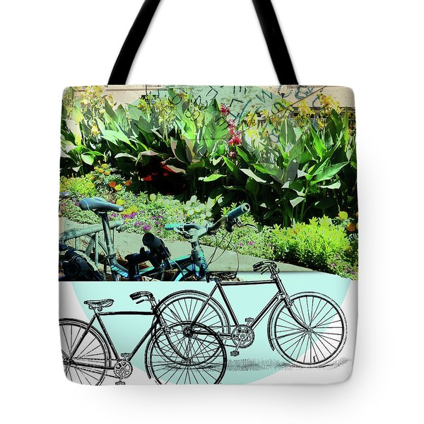 Bike Poster Tote Bag