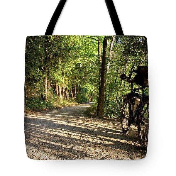 Bike Rest Tote Bag