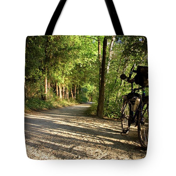 Bike Rest Tote Bag