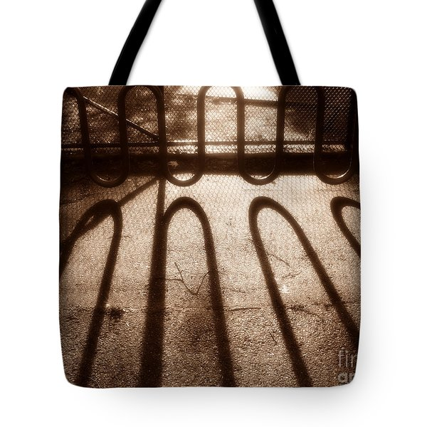 Bike Stand Tote Bag