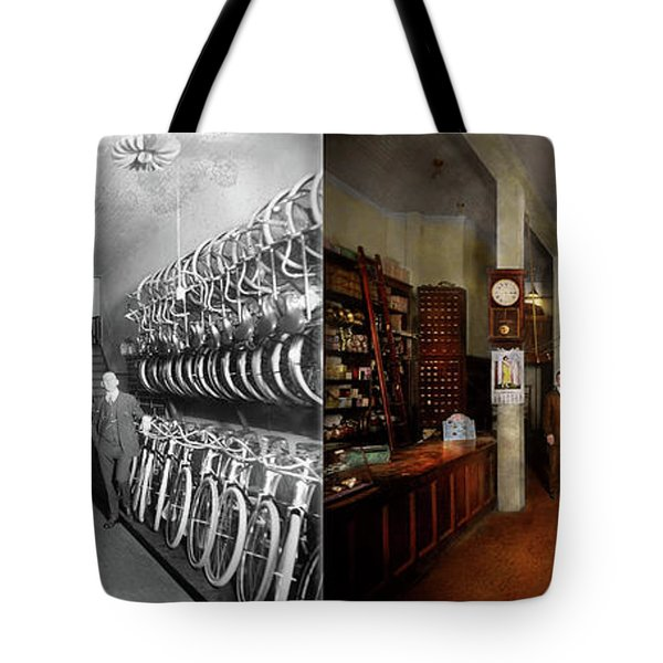 Bike - Store - Haverford Cycles 1919 - Side By Side Tote Bag
