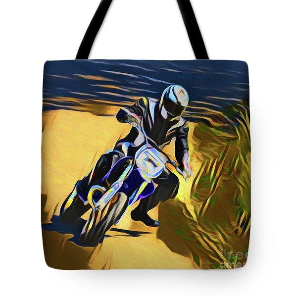 Biker 21018 Tote Bag