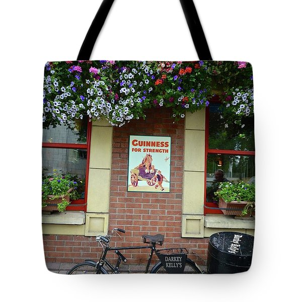 Bikes And Guinness Tote Bag