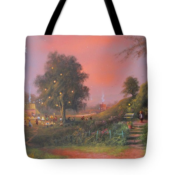 Bilbo's Eleventy-first Birthday Party Tote Bag by Joe  Gilronan