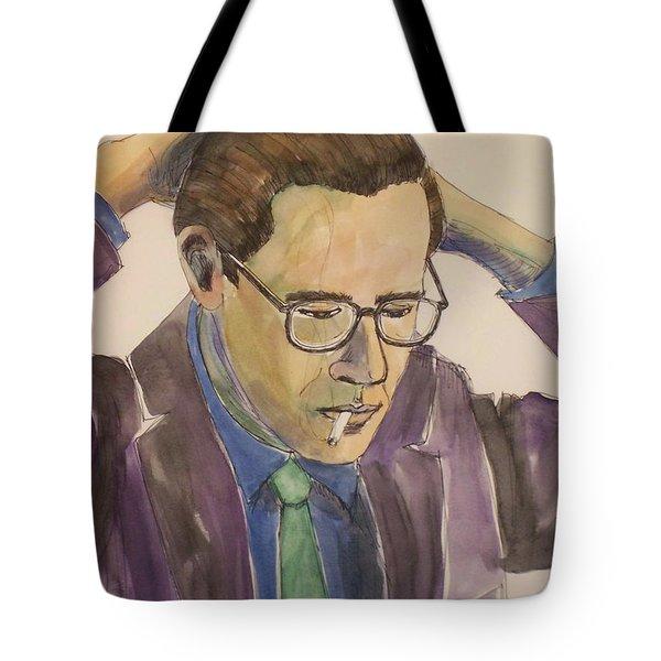 Bill Evans Tote Bag by Anita Burgermeister