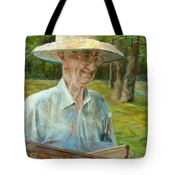 Bill Hines The Legend Tote Bag