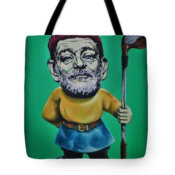 Bill Murray Golf Gnome Tote Bag