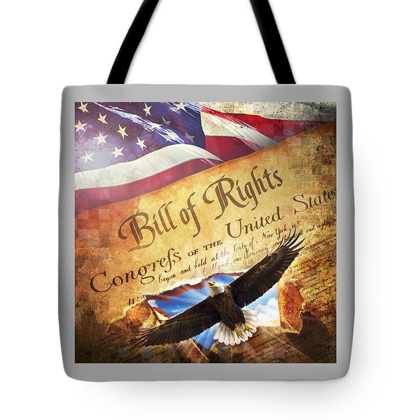 Bill Of Rights Tote Bag