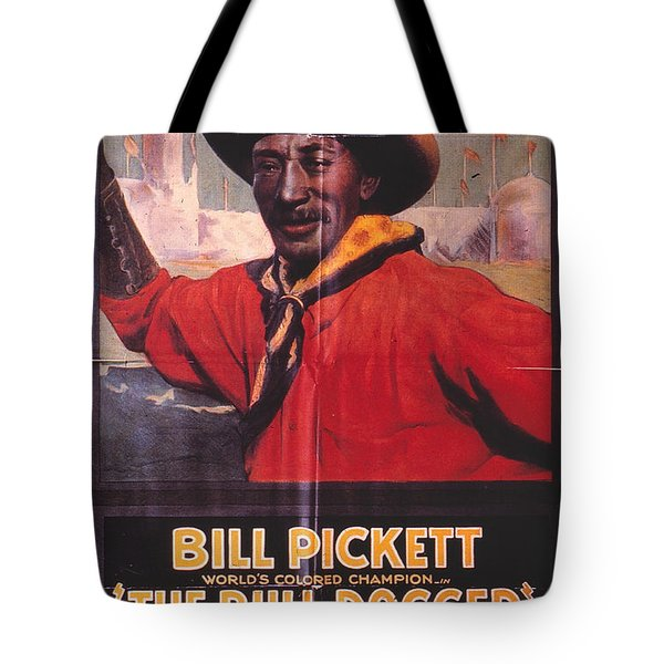 Bill Pickett (1870-1932) Tote Bag by Granger
