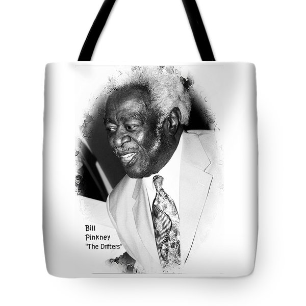 Bill Pinkney Of The Drifters Tote Bag