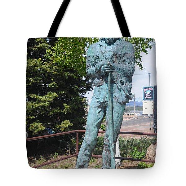 Bill Williams Statue Tote Bag