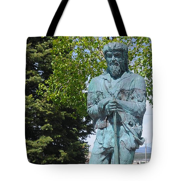 Bill Williams Statue Tote Bag