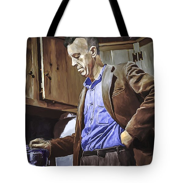 Bill Wilson Tote Bag by Rick Mosher