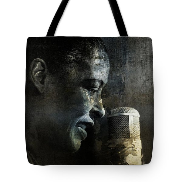 Billie Holiday - All That Jazz Tote Bag