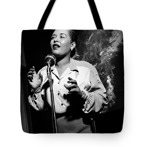 Billie Holiday  New York City Circa 1948 Tote Bag