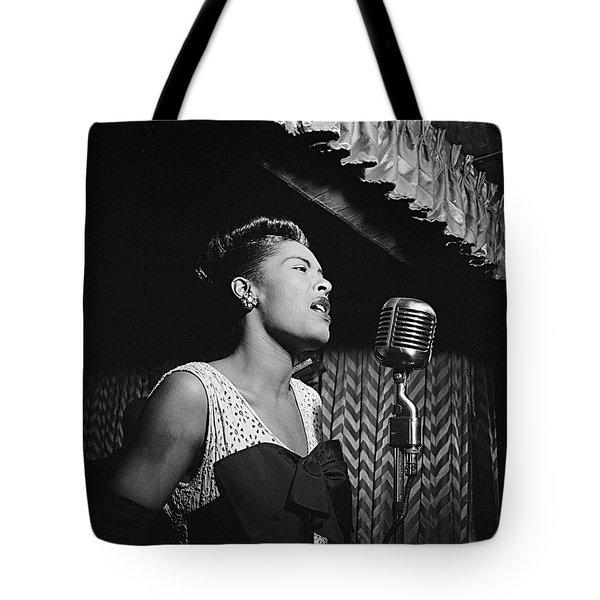 Billie Holiday William Gottlieb Photo New York City 1947 Tote Bag