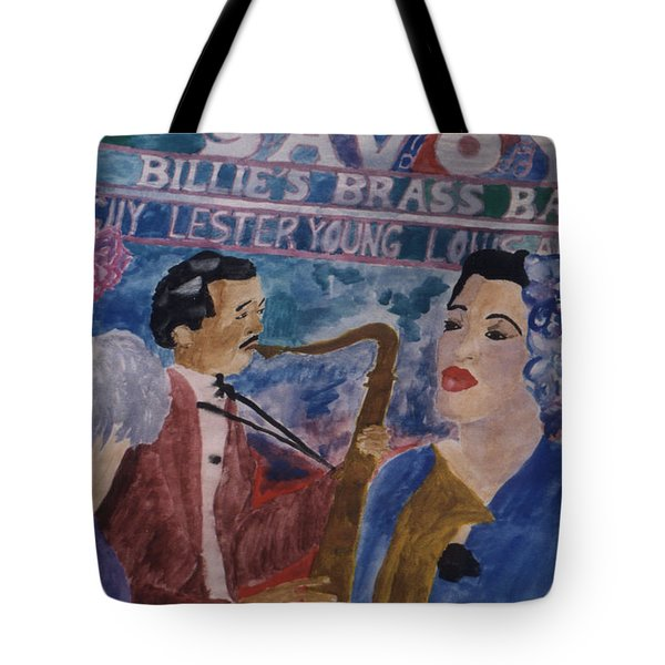 Billie's Brass Band Tote Bag
