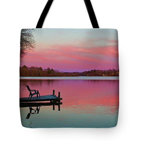 Tote Bag featuring the photograph Billington Sea Perfection by Amazing Jules