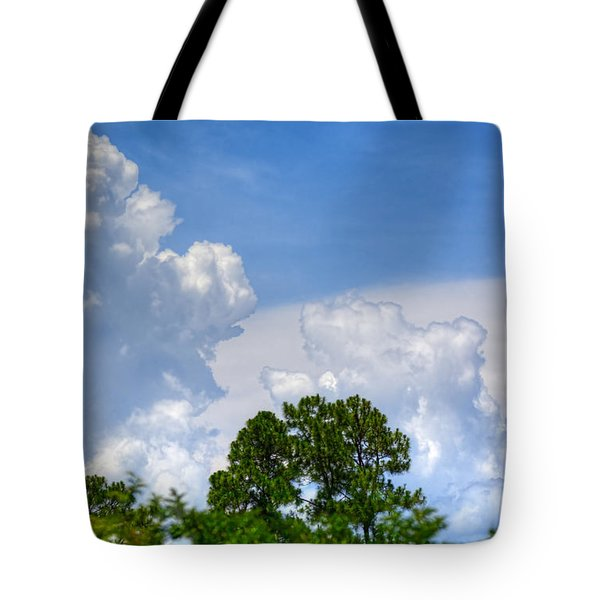 Billowing Clouds 1 Tote Bag