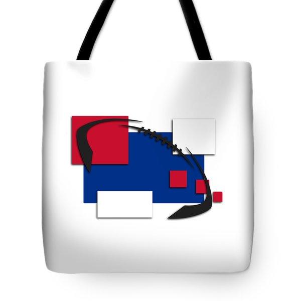Bills Abstract Shirt Tote Bag