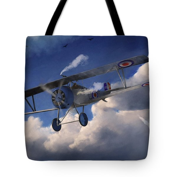 Billy Bishop - Wwi Ace Pilot Tote Bag
