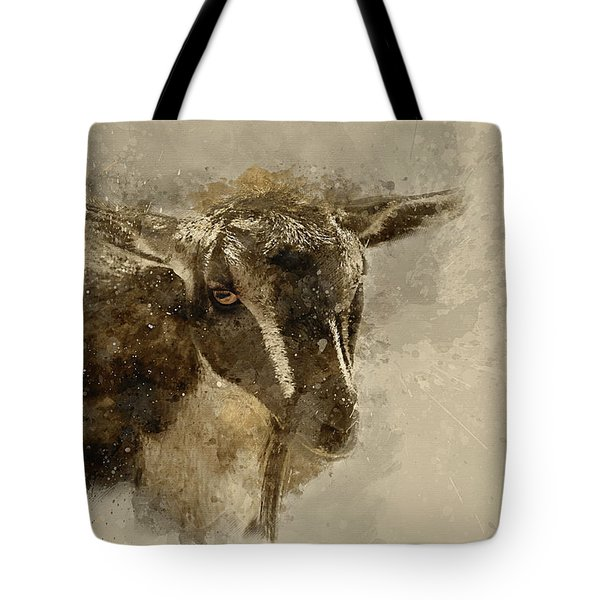 Billy Tote Bag by Cyndy Doty