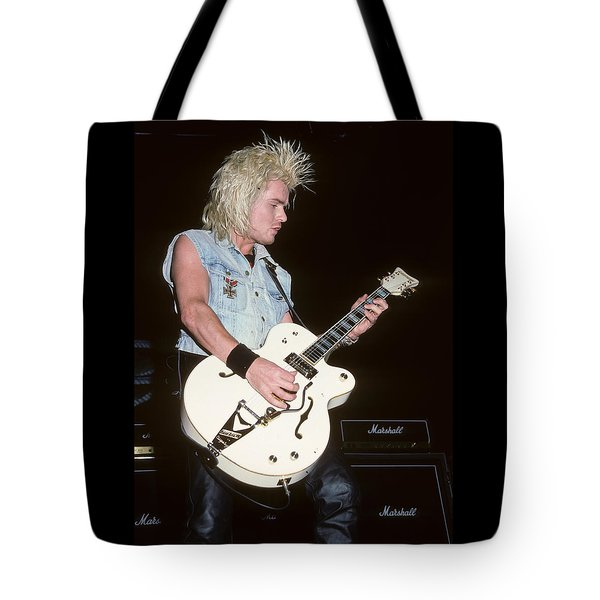 Billy Duffy Of The Cult Tote Bag