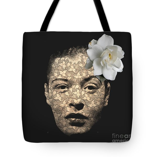 Billy Holiday Tote Bag