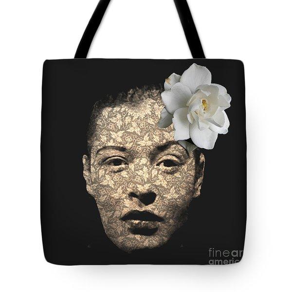Billy Holiday Tote Bag