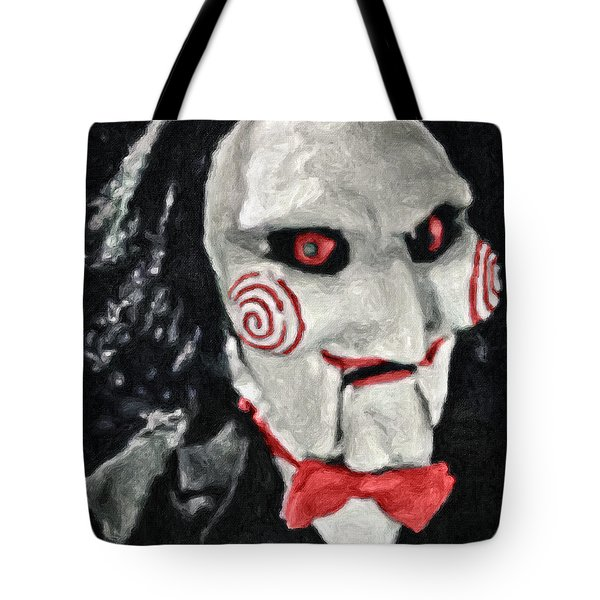 Billy The Puppet II Tote Bag