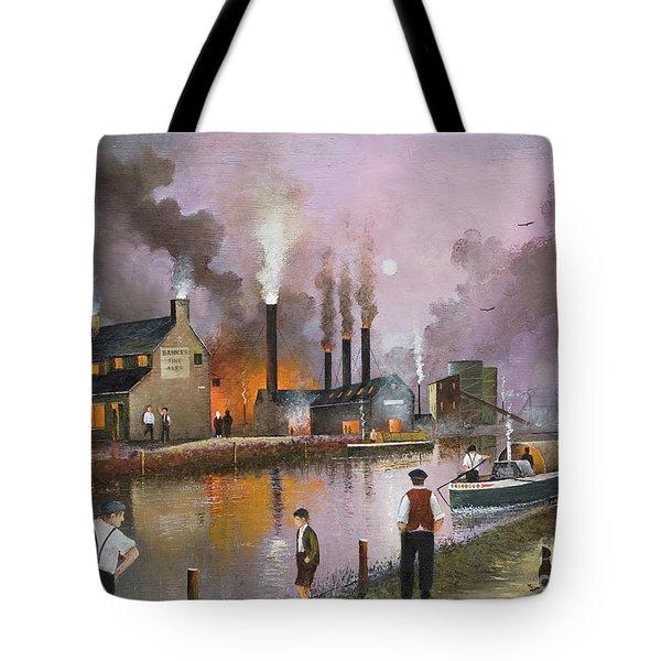 Bilston Steelworks Tote Bag