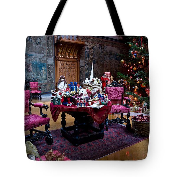 Biltmore Christmas   Tote Bag