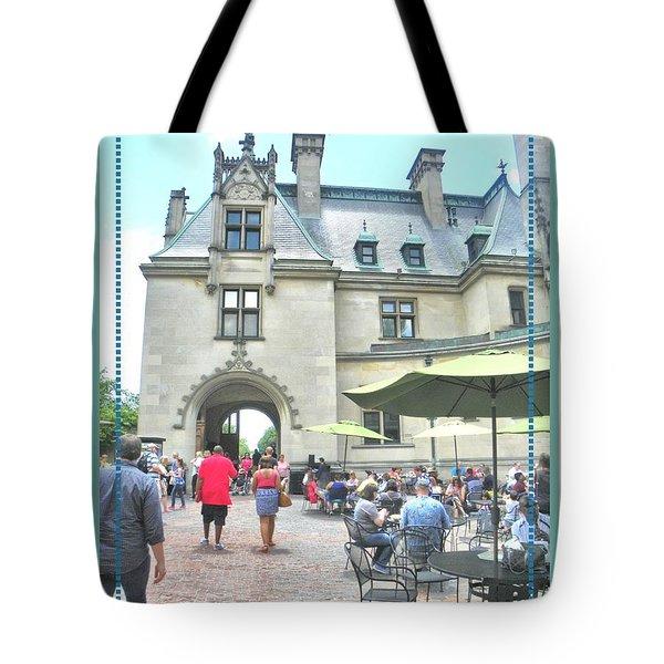 Biltmore Courtyard Tote Bag