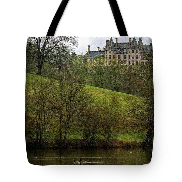 Biltmore Estate At Dusk Tote Bag