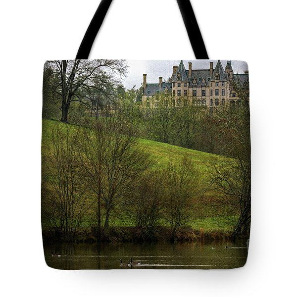 Biltmore Estate At Dusk Tote Bag