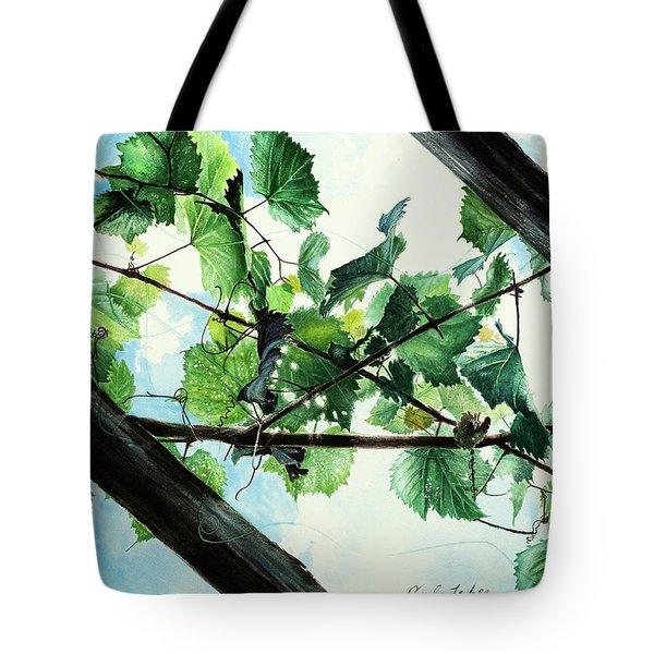 Biltmore Grapevines Overhead Tote Bag