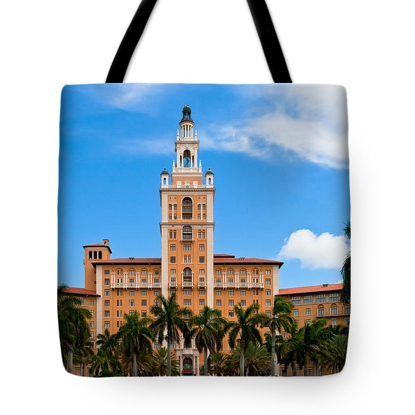 Tote Bag featuring the photograph Biltmore Hotel by Ed Gleichman