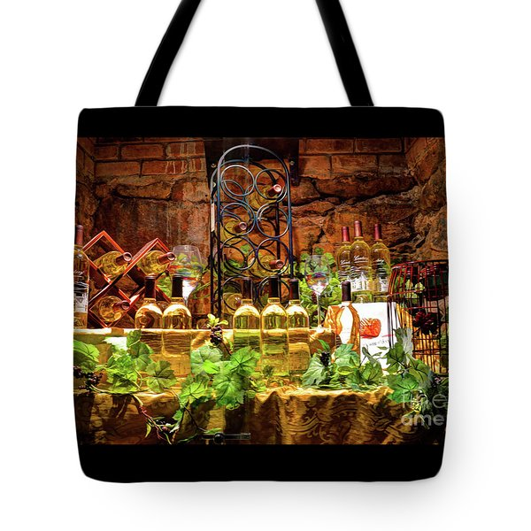 Biltmore Wine Tote Bag by Savannah Gibbs
