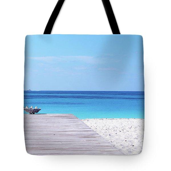 Bimini Beach Club Tote Bag
