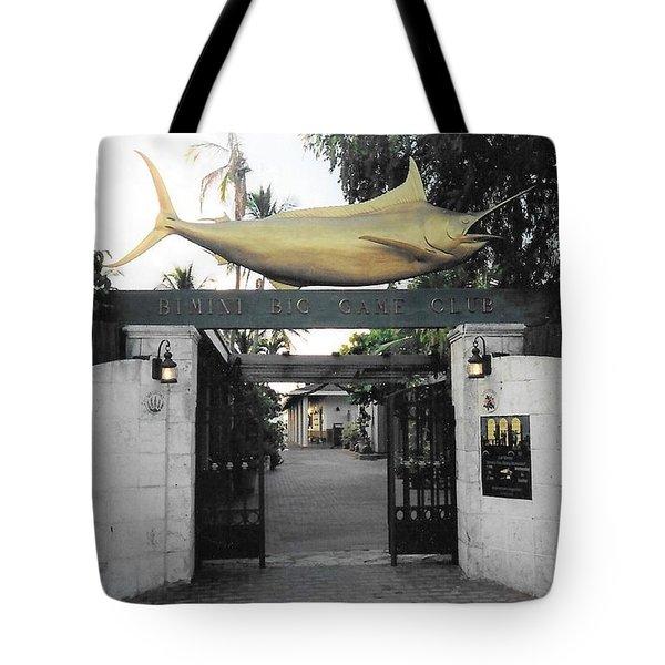 Bimini Big Game Club Tote Bag