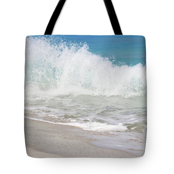 Bimini Wave Sequence 1 Tote Bag