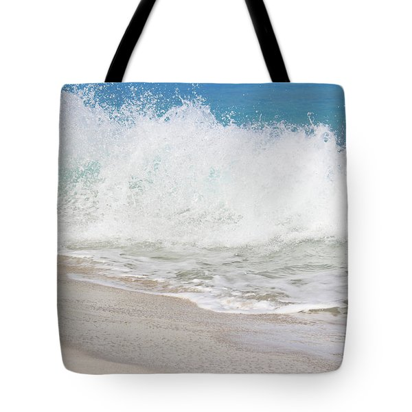 Bimini Wave Sequence 2 Tote Bag